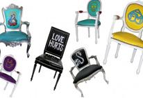 Sedie griffate per il salone del mobile 2011