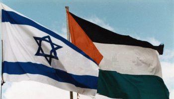 Bandiere-Israele-Palestina