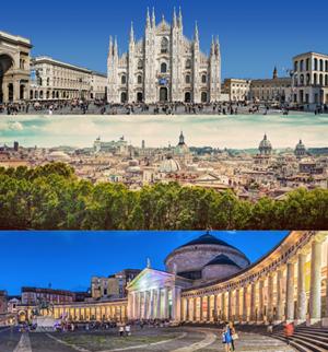 mercato-immobiliare-milano-roma-napoli
